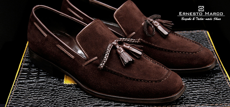 Ernesto Marco Brown Label bespoke and tailer-made