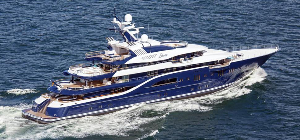 Solandge Yacht ОТ Lurssen