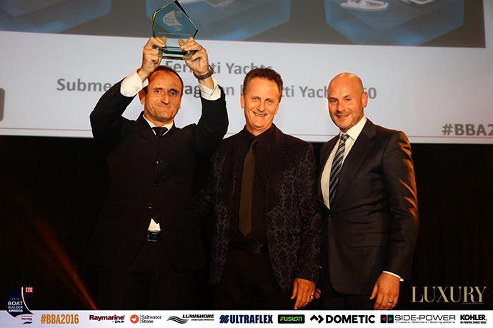 Ferretti Group Boat Builder Award