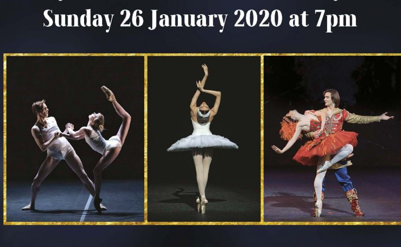 ENSEMBLE PRODUCTIONS PRESENT  BALLET ICONS GALA 2020