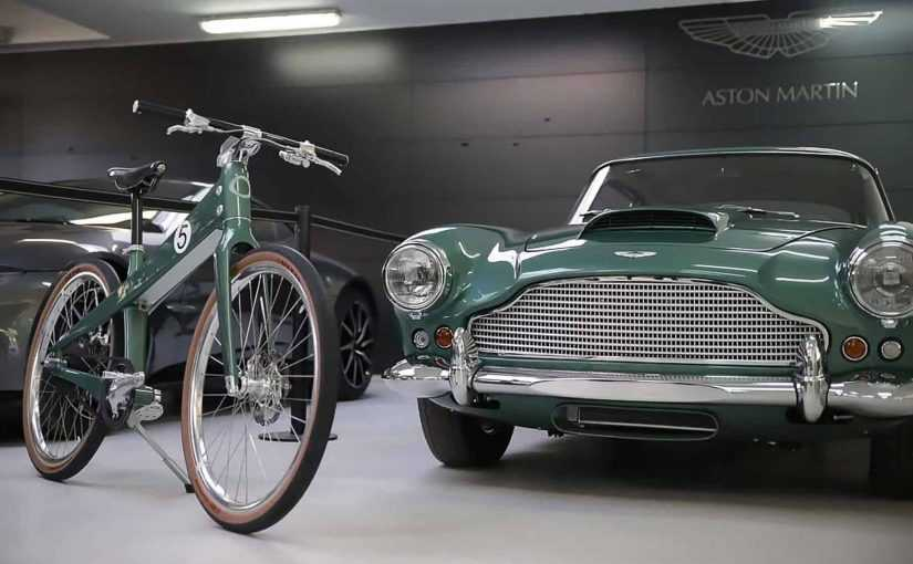 Aston Martin Teams up with Coleen for a Superb DB4 inspired Bike