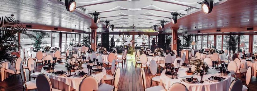 OPENING OF THE WEDDING SEASON IN THE YACHT EVENT BANQUET HALLS