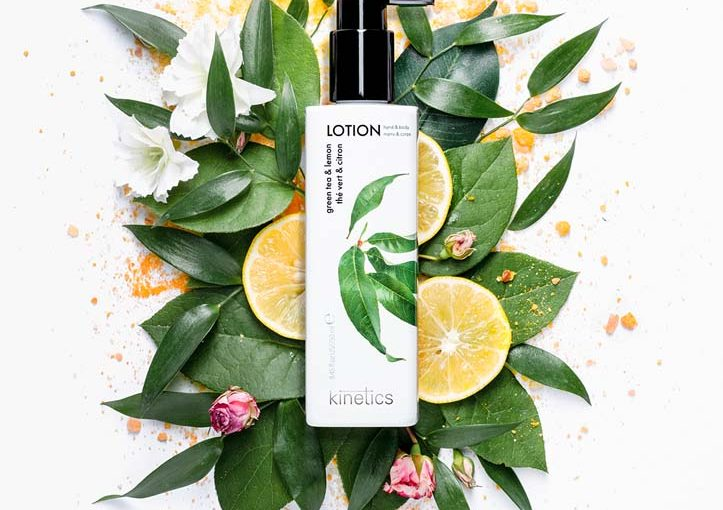 FOUR NEW FRAGRANCES OF LOTIONS FROM KINETICS