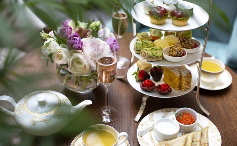EUROPEAN TEA PARTY AT THE BELMOND GRAND HOTEL EUROPE