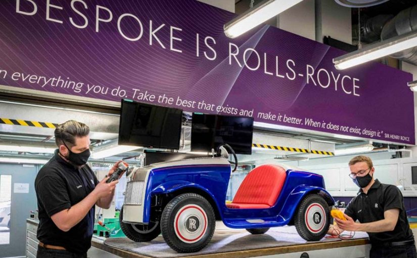 ROLLS ROYCE FOR THE SMALLEST