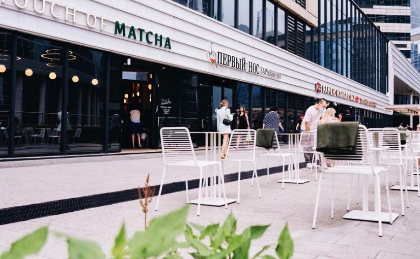 FLEXITARIAN VERANDA IN MOSCOW CITY BY TOUCH OF MATCHA